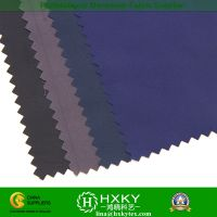 Satin With Bright Design Polyester Fake Memory Fabric For Down Coat