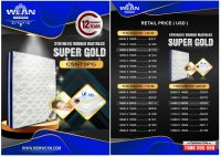 Synthetic Rubber Mattress SUPPER GOLD