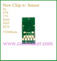 new chip with sensor for epson C79/C92/R290/R270/D78/R280