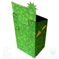 Custom color printing corrugated display box gift box packing supermarket display box toy box