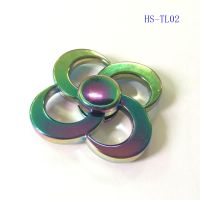 Rainbow Fidget Spinner Metal EDC hand Spinner spinner Anti-stress handspinner Spinners Decompression Novelty Toy