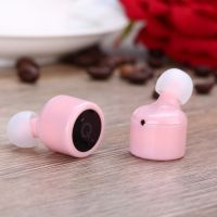 Wireless Earbuds, Cshidworld Bluetooth 5.0 Headphones Noise Cancelling Mini Headset  Invisible Sports in Ear Earphones with Built-in Mic