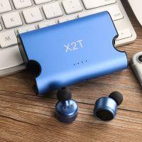 Bluetooth Headphones 5.0 Mini Stereo Headset with Microphone Hands Free in Ear Sport Sweatproof Earphones with Charging Box