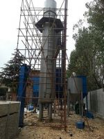China 5000 bags/day natural gas perlite expansion furnace