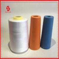 Spun polyester sewing