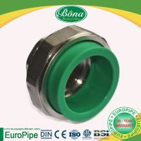 Male and Female Threaded Union - DN20 to DN63 - PP-R Fittings - Bona Corp