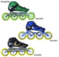 Roller Inline Skate Sport Shoes for Men Women 110mm Speed Wheels (DS1005-1007)