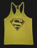 Custom logo gym stringer vests/ Tanktops for gym/ work out gym stringers