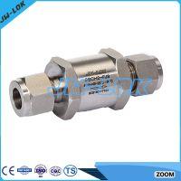High pressure no return valve with high quality