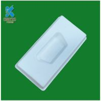 Eco friendly pulp molded tray packaging