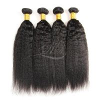 8A Brazilian Yaki Straight Hair Extensions