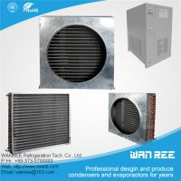 low price 9.52mm copper tube and fin condensers for refrigerator