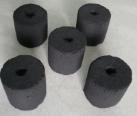 Coconut shisha charcoal in cubes form