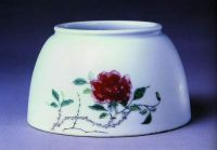 flower porcelain bowl