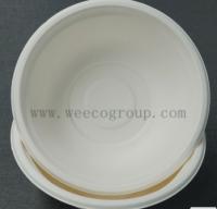 Disposable Sugarcane Pulp Paper Bowl