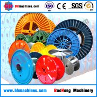 High Speed Double Layer Steel Bobbin Metal Corrugated Wire Drum Cable spools and reel