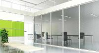 glass partition for office wall design