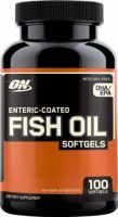 Optimum Nutrition Fish Oil Softgels Packed with Omega-3 Essential Fatty Acids