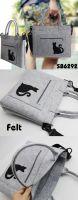 NEW ECO-FRIENDLY CAT HANDBAG/ SHOULDER BAG--SB6292