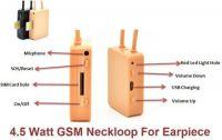 GSM Spy Earpiece Set With Sim Card (No need Phone)