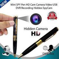 Spy Pen HD Camera with SD Card Slot - Recheargable