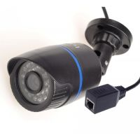 IP - WIFI Outdoor (Waterproof) Camera - Night Vision 24 LED + Ethernet Port + SD Card Port
