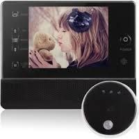 Video Door Viewer Hidden Peephole Camera with Monitor + Night Vision