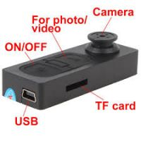 HD Button Hidden Camera + Working while Charging + SD Card Slot