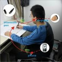 Bluetooth Pen Spy Earpiece + Invisible Earpiece - Full Set
