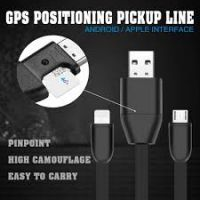 Real Time Cable Gps Tracker + Gsm Bug(voice recording) + Fast Charging Cable