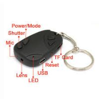 Keychain Mini Hidden Camera - Mini Sd card Port - Video(with Sound) + Photo