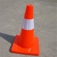 2017 hot sale factory price PVC traffic Cone reflective orange construction cones road warning road cone