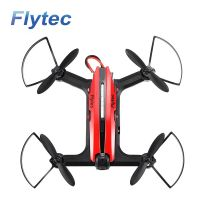 Flytec T18D RC Quadcopter Mini Racing Drone 4CH 6 axis UFO with Wifi FPV 720P HD Camera Height Hold Mode RTF Red