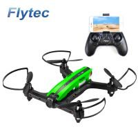 Flytec T18D RC Quadcopter Mini Racing Drone 4CH 6 axis UFO with Wifi FPV 720P HD Camera Height Hold Mode RTF Green