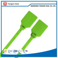 Cable tie plastic seal in