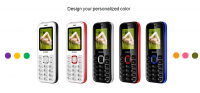 IPRO A8 mini 1.77 Inch feature phone chipset SC6531DA 2g new launch cellphone basic phone