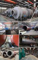 Three drum rotary dryer drying equipment tube dryer cylinder dryer