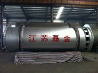 Double drum rotary dryer drying equipment tube dryer cylinder dryer