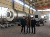 Three cylinder rotary dryer drying equipment tube dryer cylinder dryer