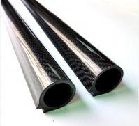 Round Carbon fiber spearfishing Barrels (31mm x 26mm x 1 meter Length )