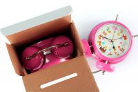 Wholesale MP3 song personalized table musical alarm clock for kids