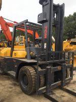 cheap used 7 ton mini TCM diesel forklift truck
