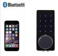 Smartphone Bluetooth Door Lock APP Combination, Code Touch Screen Keypad Password Smart Electronic Lock