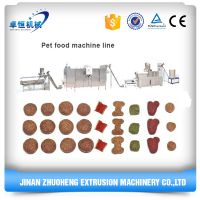 Best quality extruded dry pet dog food making machine