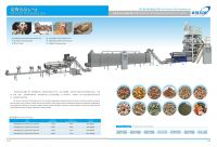 High quality pet dog food making machine processing line