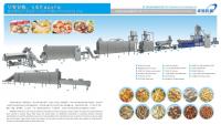 CE certification corn flakes making machinery