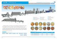 Nutritional Corn flakes Making Machine / Equipment /production line