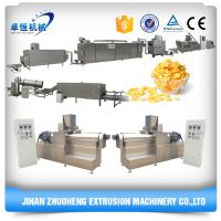 Different scale corn flakes making machine production line