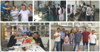 High quality short pasta extruder machinery