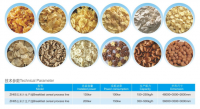 Stainless steel corn flakes processing line